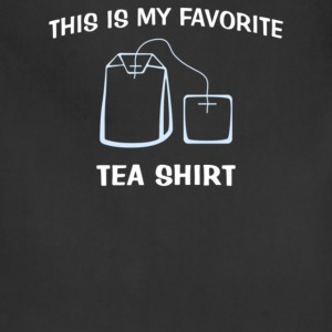 This Is My Favorite Tea Shirt - Adjustable Apron