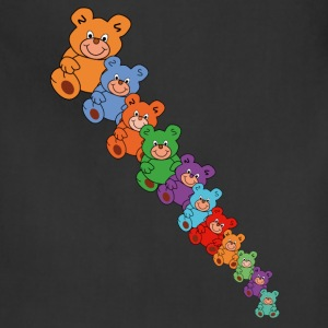 colorful teddy bears - Adjustable Apron