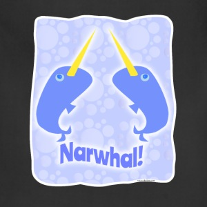 Double Narwhal Duel - Adjustable Apron