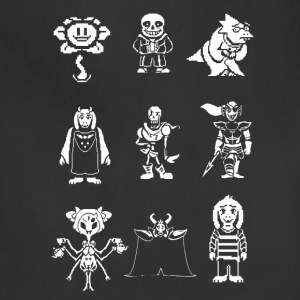 undertale team - Adjustable Apron