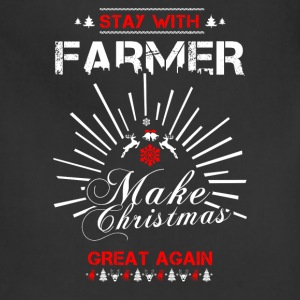 Stay with Farmer T Shirts - Adjustable Apron
