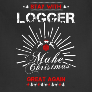 Stay with Logger T-Shirts - Adjustable Apron
