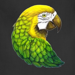 Yellow-Green Macaw Parrot - Adjustable Apron