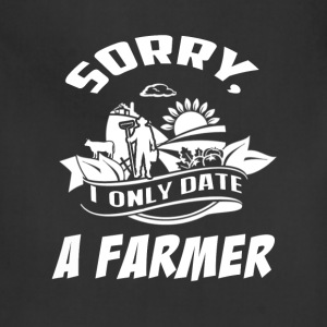 I only date a Farmer T Shirts - Adjustable Apron