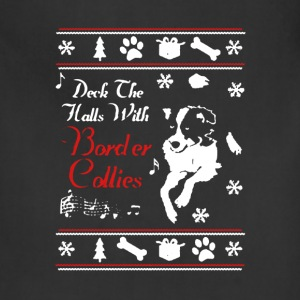 Border Collie Xmas Shirt - Adjustable Apron