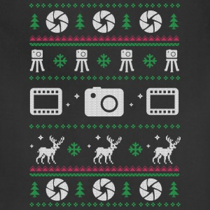 Photographer merry christmas - Adjustable Apron