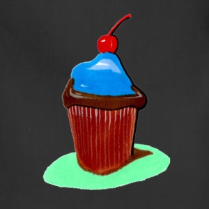 Cupcake, all that cupcake with a cherry on top - Adjustable Apron