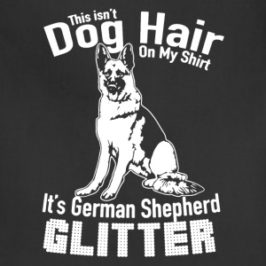German Shepherd Glitter Shirt - Adjustable Apron