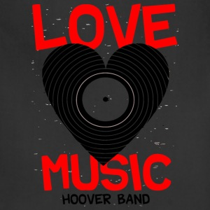 Love Music Hoover Band - Adjustable Apron