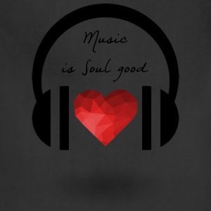 Music is soul good - Adjustable Apron