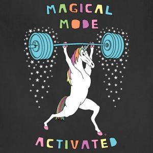 Magical Mode Unicorn Outline - Adjustable Apron