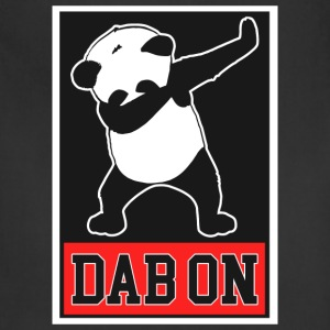 Panda Dab On Dance Funny - Adjustable Apron