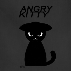 Angry Kitty - Adjustable Apron