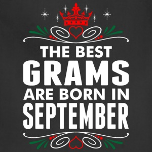 The Best Grams Are Born In September - Adjustable Apron