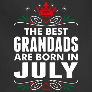 The Best Grandads Are Born In July - Adjustable Apron