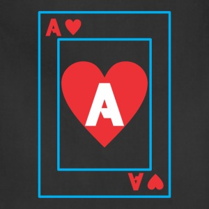 A playing card - Adjustable Apron