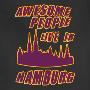 HAMBURG Awesome people live in - Adjustable Apron