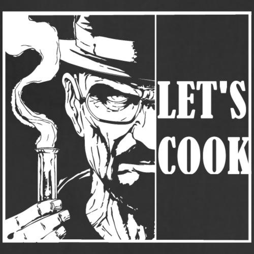 Let's cook! - Adjustable Apron