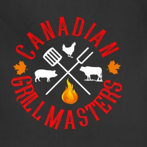 Canadian Grill Master Logo - Adjustable Apron