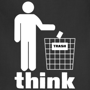 Think trash - Adjustable Apron
