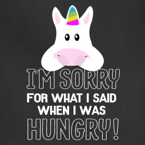 hungry unicorn - Adjustable Apron