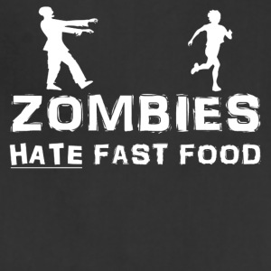 Zombies Hate Fast Food - Adjustable Apron