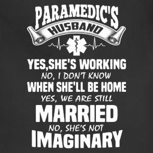Paramedic Husband Shirt - Adjustable Apron