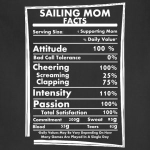 Sailing Mom Facts Daily Values May Be Vary - Adjustable Apron