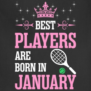 Best Players Are Born In January - Adjustable Apron
