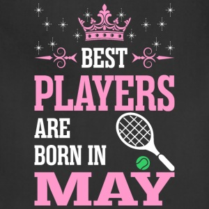 Best Players Are Born In May - Adjustable Apron