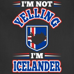 Im Not Yelling Im Icelander - Adjustable Apron