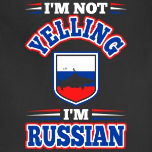 Im Not Yelling Im Russian - Adjustable Apron