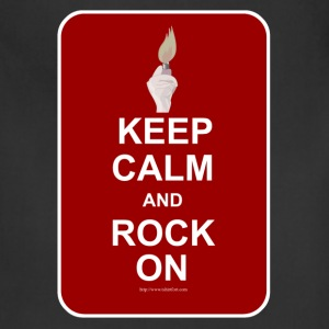 Keep Calm Rock On - Adjustable Apron