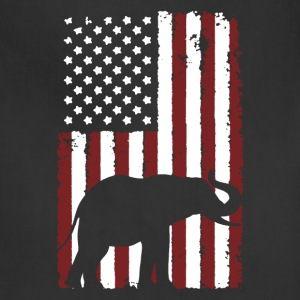 American Elephant Shirt - Adjustable Apron