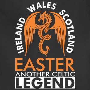 Ireland Wales Scotland Easter Anther Celtic Legend - Adjustable Apron
