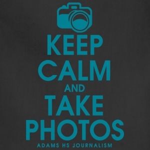 Keep Calm And Take Photos Adams HS Journalism - Adjustable Apron