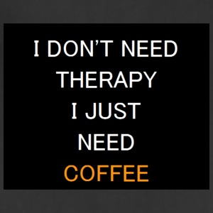 Therapy Coffee Black - Adjustable Apron