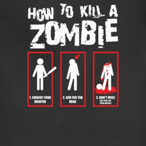 How To Kill A Zombie - Adjustable Apron