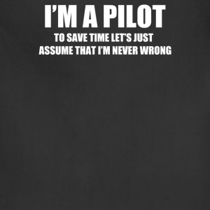I'am Pilot - Adjustable Apron