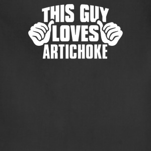 This Guy Loves Artichoke - Adjustable Apron