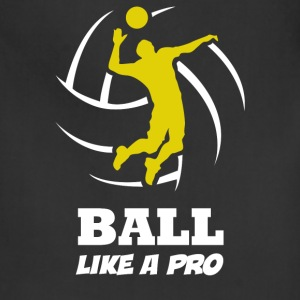 Volleyball Player Ball Like a Pro - Adjustable Apron