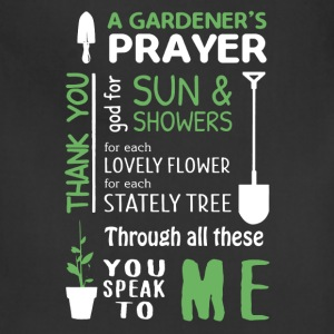 Gardener Prayer Shirt - Adjustable Apron
