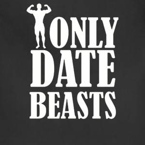 I ONLY DATE BEASTS GYM - Adjustable Apron