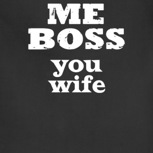 I'm BOSS Youn Wife - Adjustable Apron