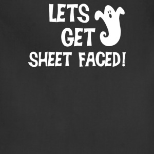 Lets Get Sheet Faced - Adjustable Apron