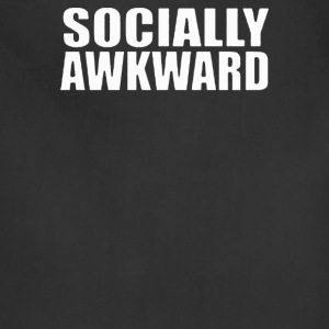 Socially Awkward - Adjustable Apron