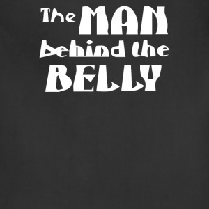 The man behind the belly - Adjustable Apron