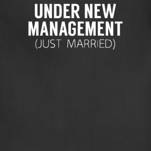 UNDER NEW MANAGEMENT JUST MARRIED - Adjustable Apron
