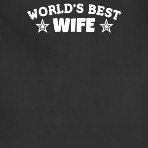 World's Best Wife - Adjustable Apron