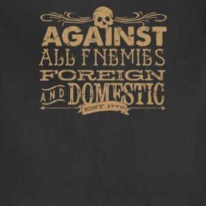 Against All Enemies foreign - Adjustable Apron
